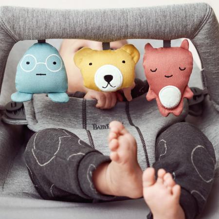BabyBjörn® Lok z igračkami za gugalnik Soft Friends