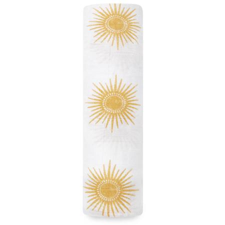 Slika Aden+Anais® Povijalna plenička iz bambusa Golden Sun 120x120