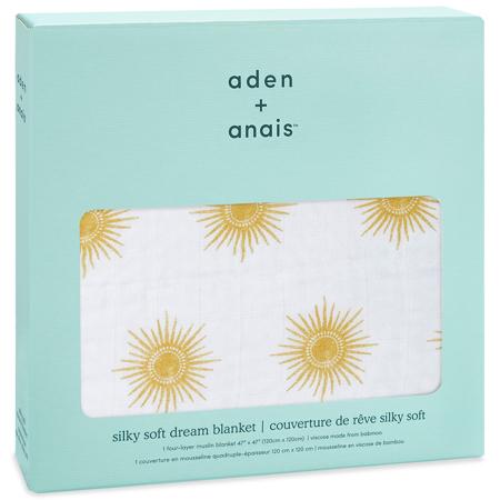Aden+Anais® Bambusova odejica Golden Sun 120x120