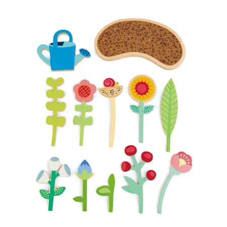 Tender Leaf Toys® Cvetlična gredica Flower bed