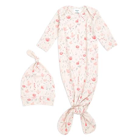 Slika Aden+Anais® Darilni paket Spalna vreča in kapica Comfort Knit (0-3M) Perennial