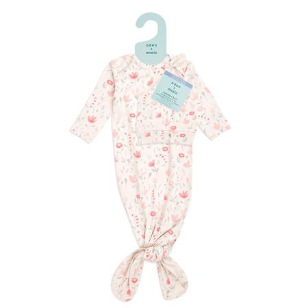 Aden+Anais® Darilni paket Spalna vreča in kapica Comfort Knit (0-3M) Perennial