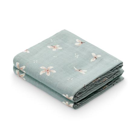 Slika CamCam® Komplet tetra pleničk GOTS Windflower Blue