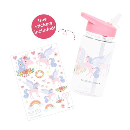 A Little Lovely Company® Steklenička za pijačo Unicorn