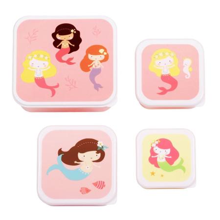 A Little Lovely Company® Škatlice za malico in prigrizke Mermaids