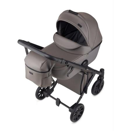 Slika Anex® Otroški voziček s košaro in nahrbtnikom 2v1 E/Type (0-22kg) Gothic