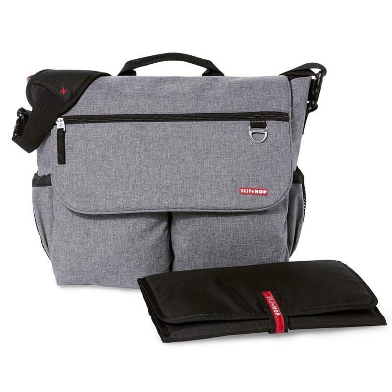 skiphop-dash-signature-diaper-bag-heather-gray1